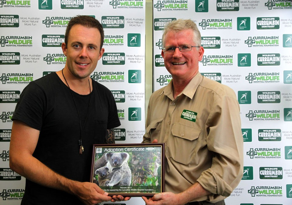 Casey Barnes named Ambassador to Currumbin Wildlife Hospital Foundation