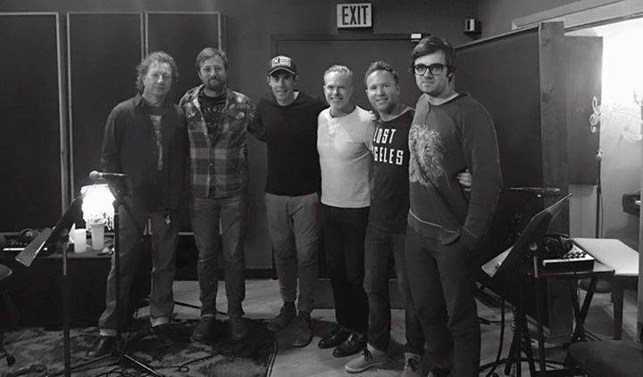 Casey Barnes records new material in Nashville