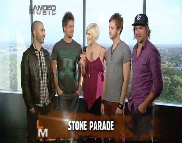 Stone Parade on Landed Music (Southern Cross 10) – August 2011