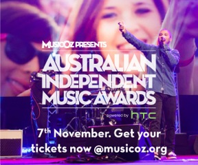 Little Sparrow's Casey Barnes and Keeda finalists in Australian Independent Music Awards