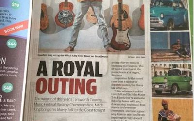 Mitch King – Gold Coast Bulletin November 2016