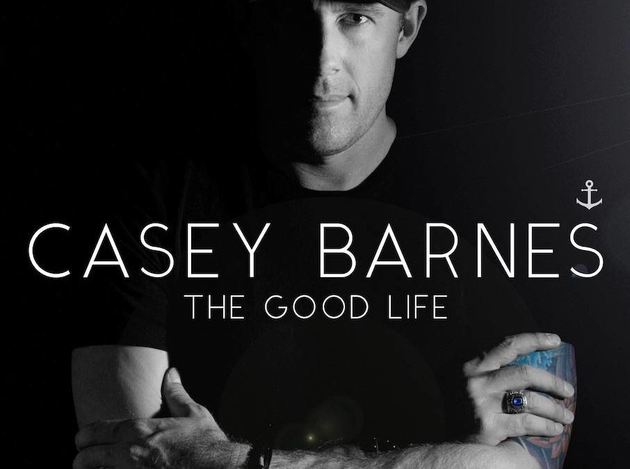 Casey Barnes' new album 'The Good Life' debuts at #1 on the iTunes Country Charts & #2 on the ARIA Country Charts