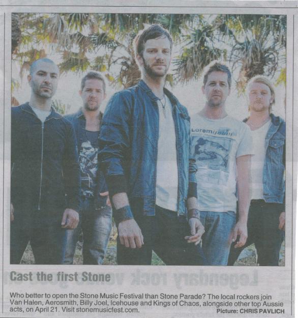 Stone Parade in MX Sydney April 2013
