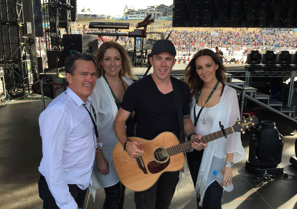 Casey Barnes wows crowds at A Day on the Green supporting Mariah Carey